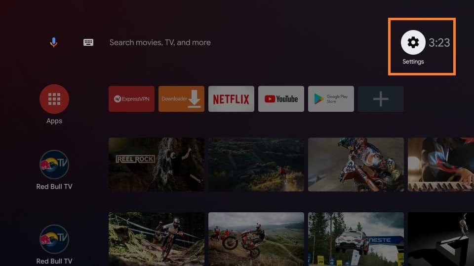 How to install Catmouse apk on android tv