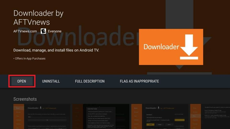 Install catmouse apk on mi box