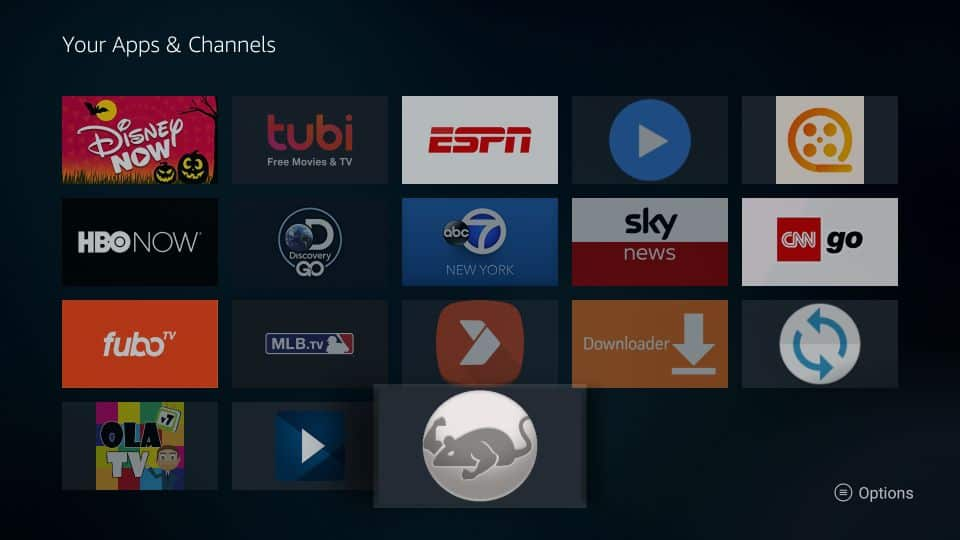 Install cat mouse apk on fire tv