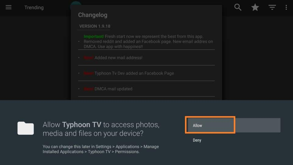 Download typhoon tv apk on amazon firestick