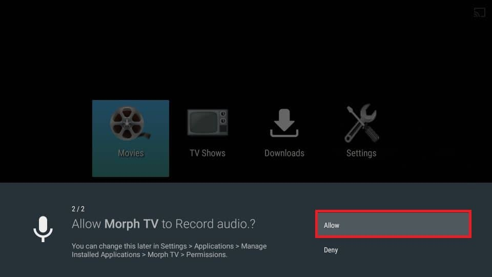 how to install Morph TV apk on Firestick
