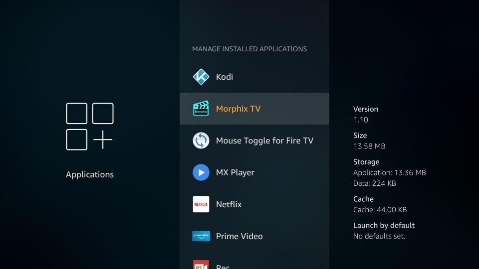 morphix tv spinning logo issue