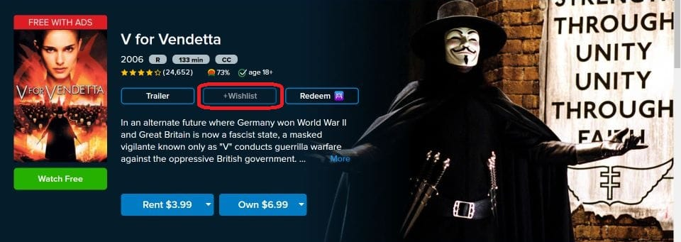 how to watch free movies on vudu