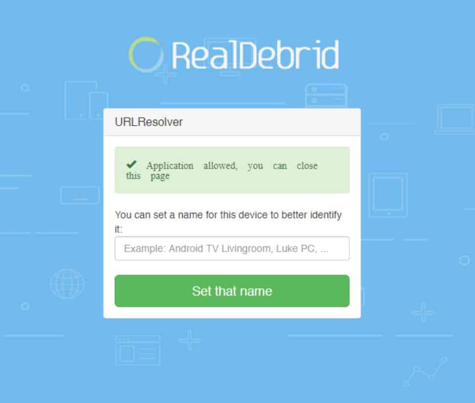 Real debrid is now authorized