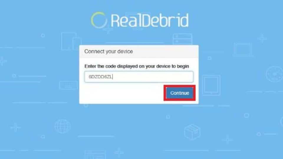 pair Real-debrid with BeeTV