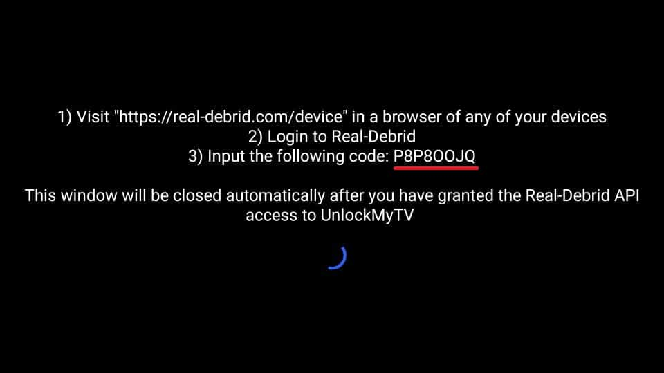 UnlockMyTV firetick real debrid setup