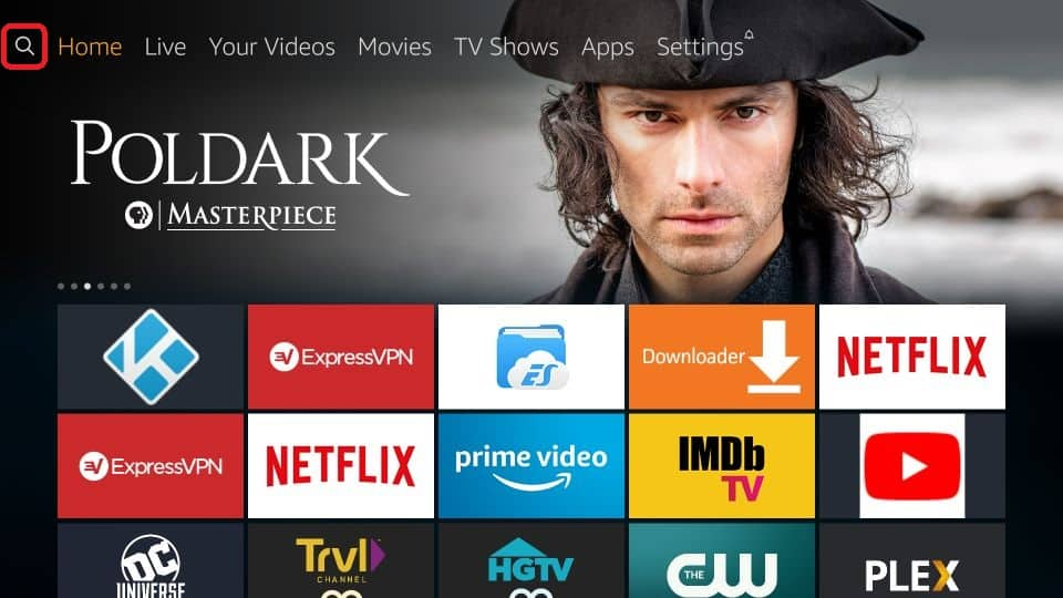 how to get Live NetTV APK on amazon Firestick