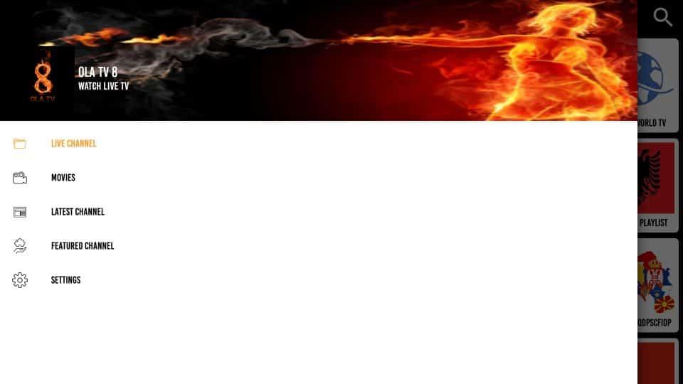 how to use Ola TV APK on firestick