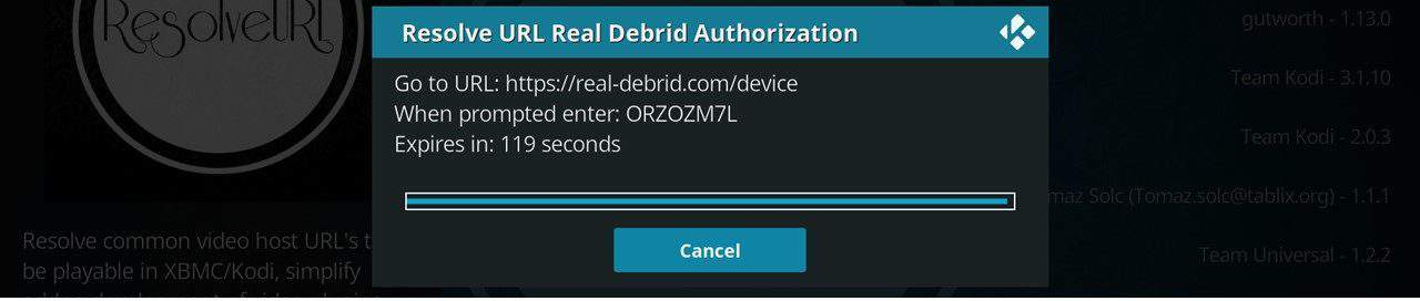 How to install real debrid on kodi