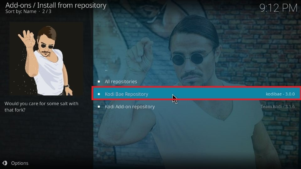 Kodi Bae Repository for Kodi