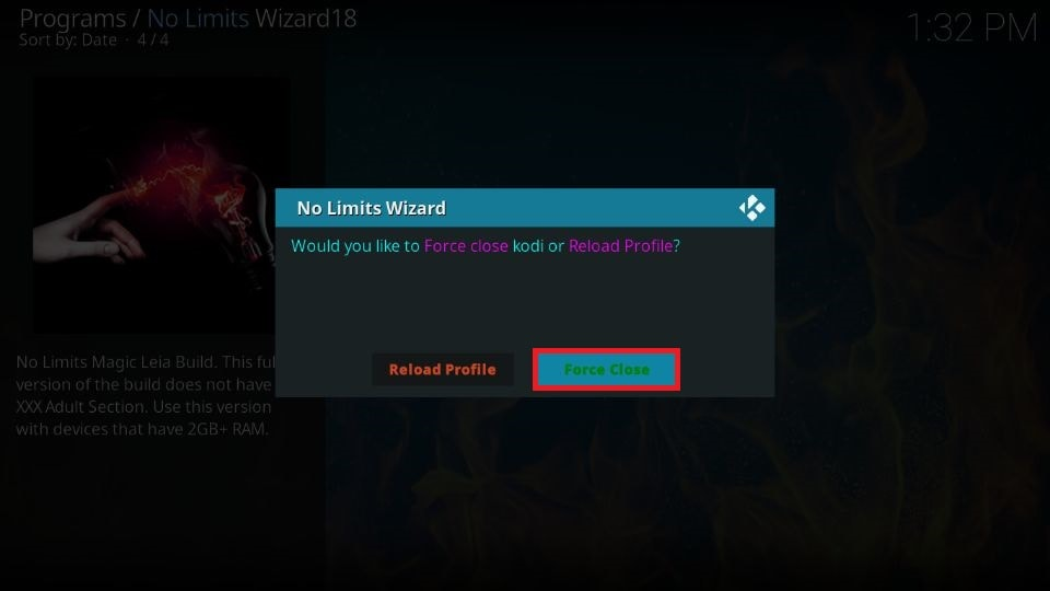 install No Limits Magic build on Kodi