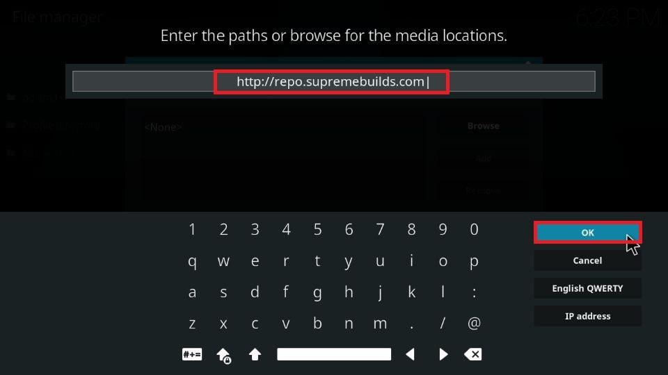 how to install Titanium build on Kodi