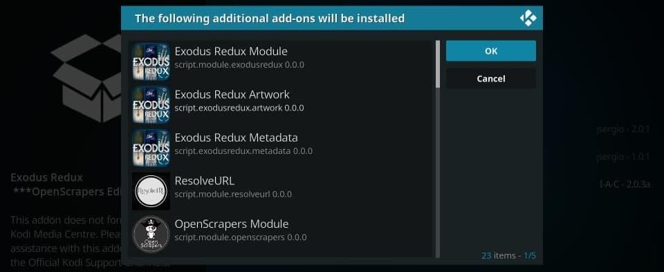 Install exodus redux addon on kodi