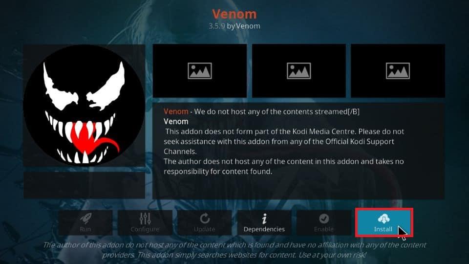 Venom Addon