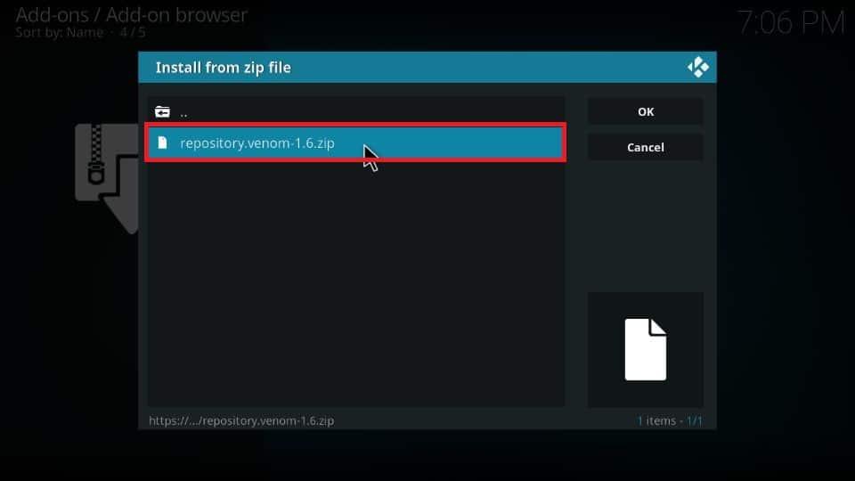 Venom addon download