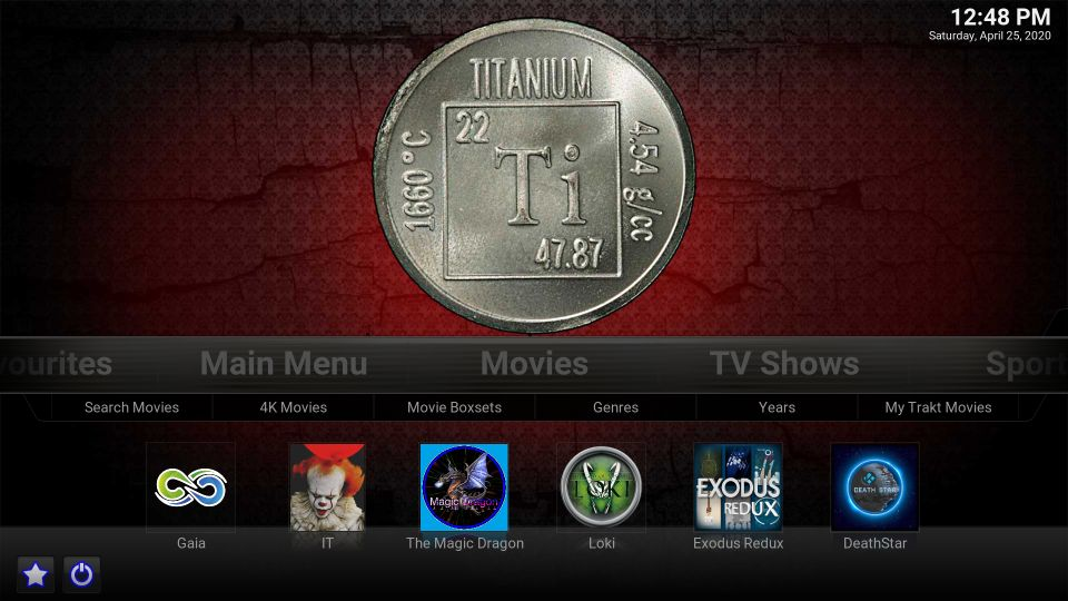 kodi titanium build