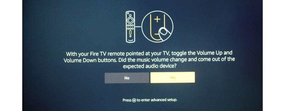 click on the remote