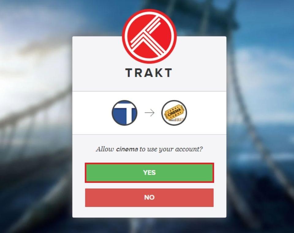 Use firestick with Trakt