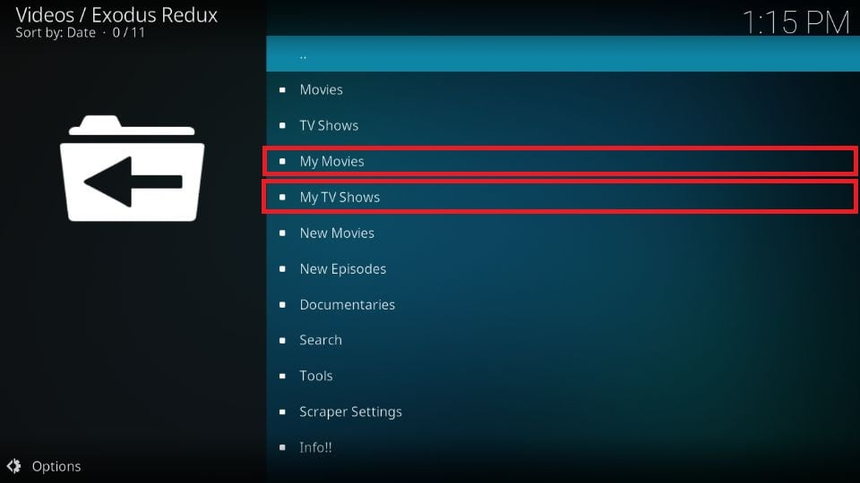 How to use Trakt with Exodus Redux addon Kodi