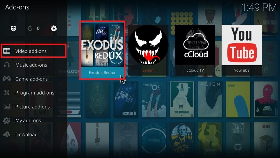 How to set up Trakt with Exodus Redux addon Kodi