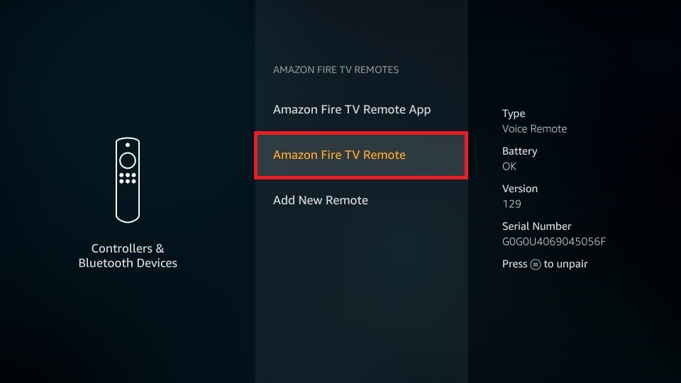 amazon remote