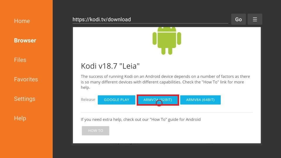 how to install Kodi APK on firestick