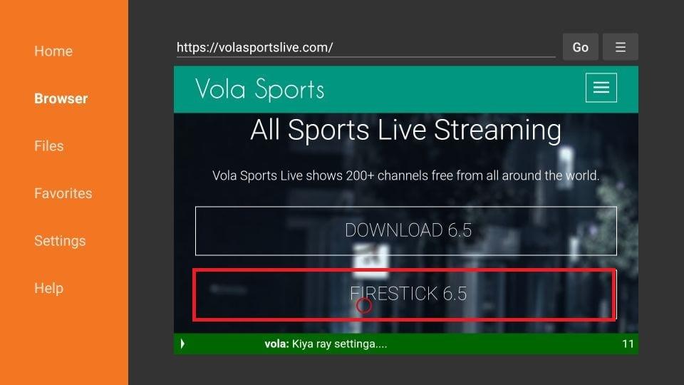 Vola Sports download