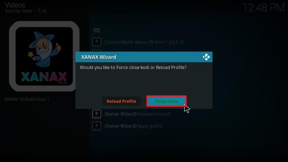 Xanax Kodi build download
