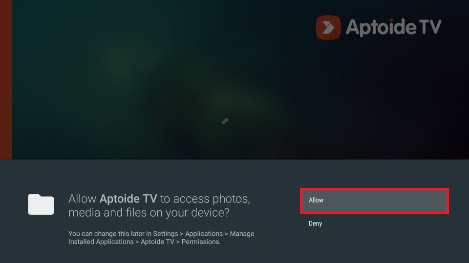 how to install Aptoide on Firestick