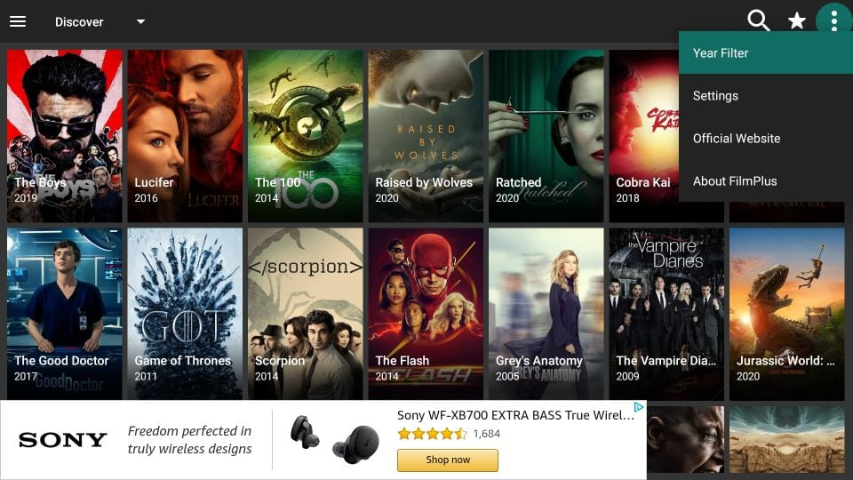 FilmPlus APK for Firestick