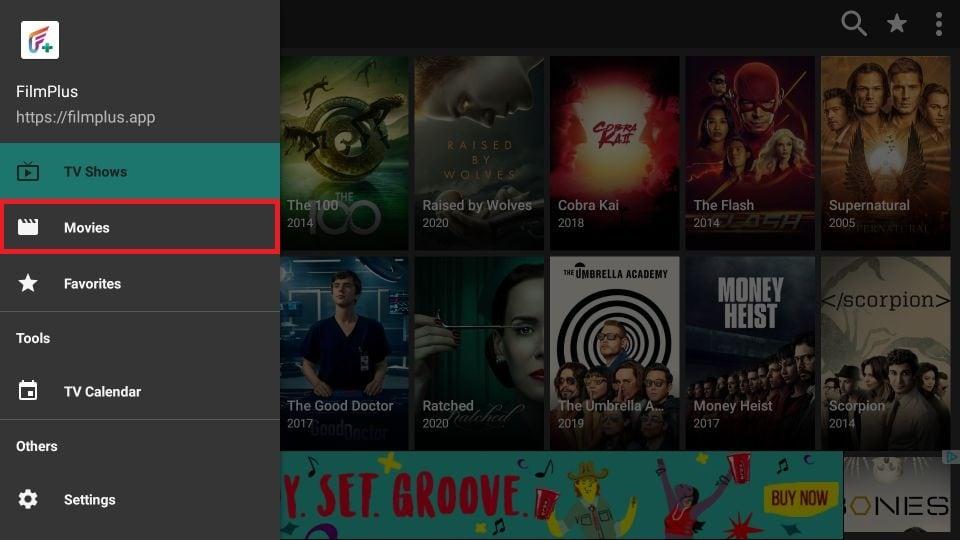 how to get FilmPlus APK on amazon Firestick