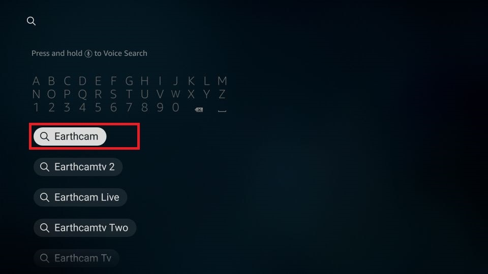 how to install EarthCam APK on Firestick