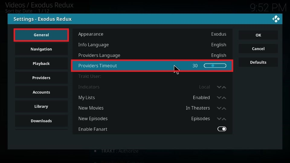 Fix no streams available error on Kodi