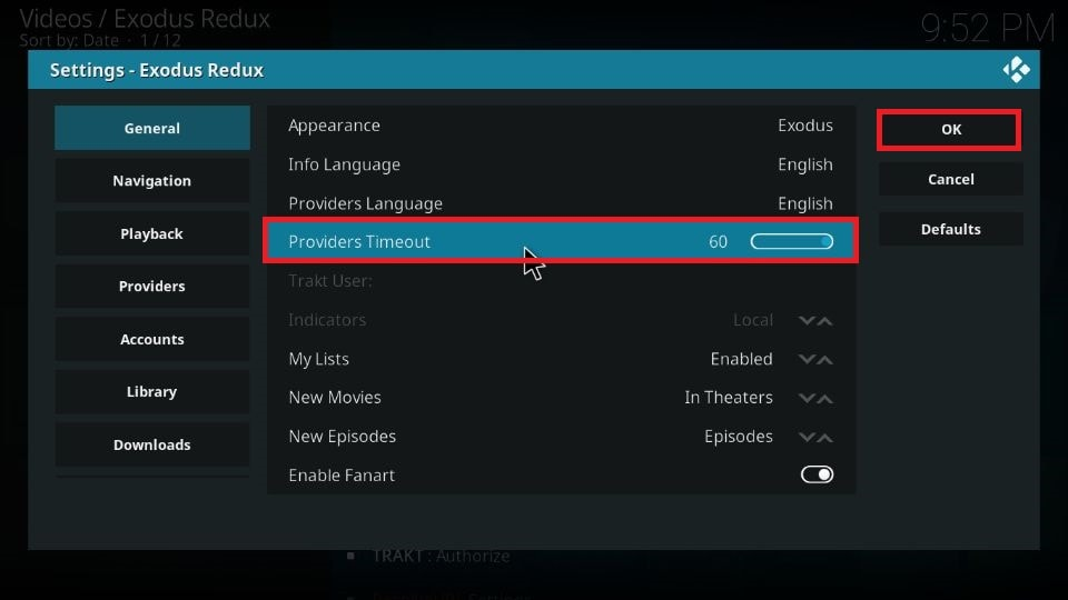 Fix no streams error on Kodi