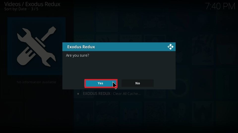 fix Kodi no stream error