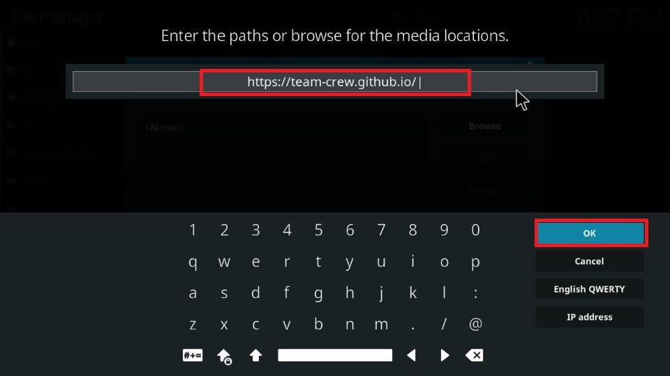 how to install The Crew addon on Kodi
