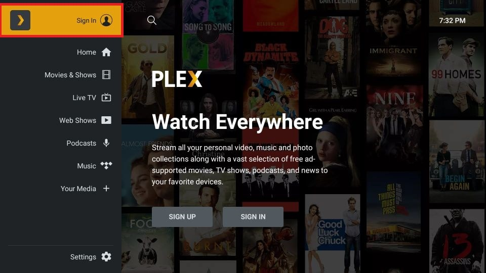 how to install Plex on FireStick