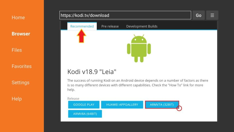 how to install kodi 19 on firestick