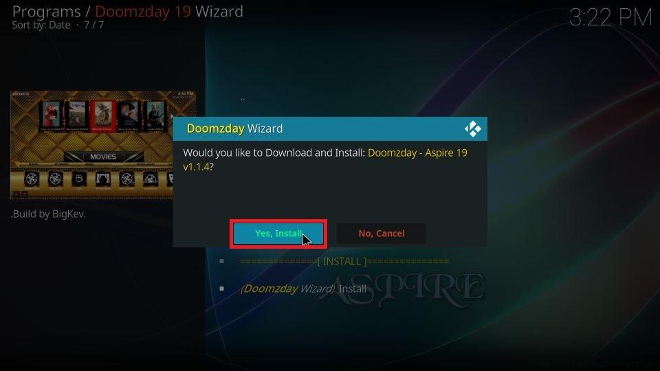 Kodi Doomzday Build