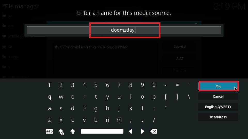 Doomzday build for Kodi