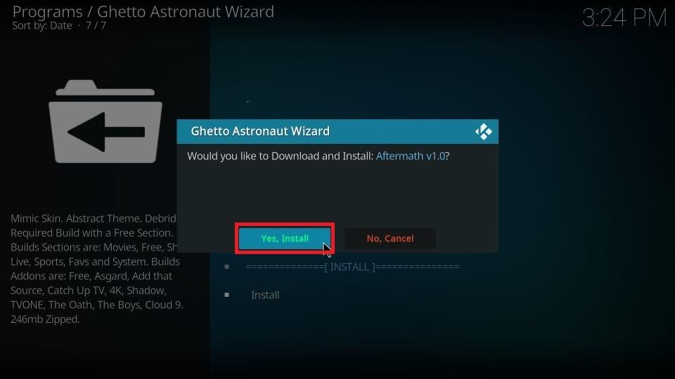 Ghetto Astronaut build for Kodi