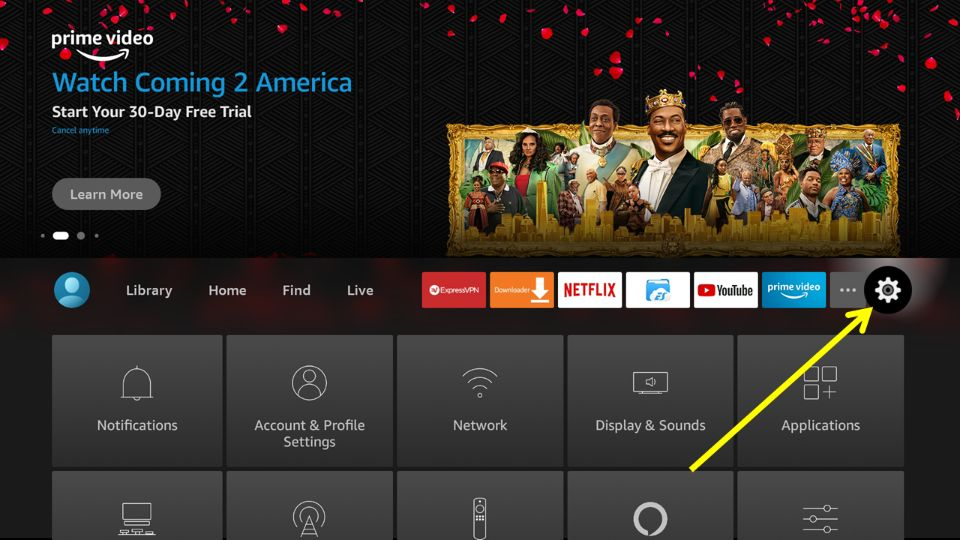 install AOS TV on fire stick