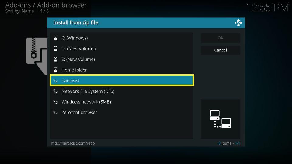 how to install Black Lightning addon on Kodi